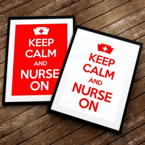 plaket4-centered-keep-calm-and-nurse-on-diplomirane-akademichni-shapki-i-podaruci